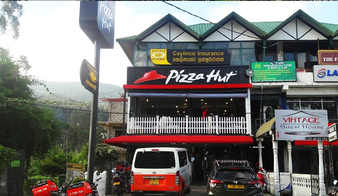 pizza hut sri lanka After 3 weeks of sri lankan food, it was nice to find a pizza hut in kandy city  where choosing a place to eat can be difficult the pizza and garlic bread deal  was.